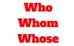 Who, whom, whose y who's: Aprende cómo usar en inglés