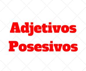 Adjetivos Posesivos en Inglés ¿Qué es el possessive adjective?