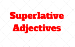 Superlative adjective ¿Qué son?