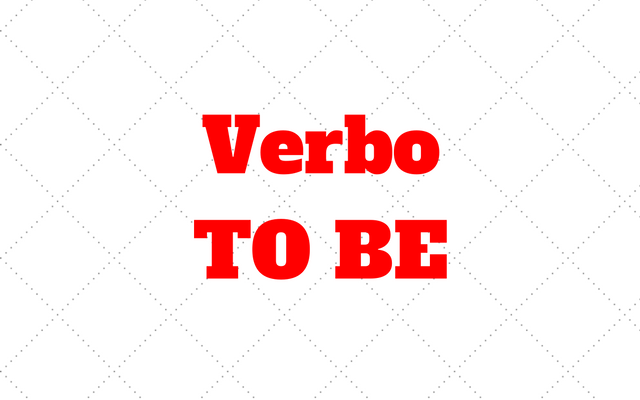 verbo to be