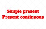 Como usar Presente Simple y Continuo en Oraciones Futuras