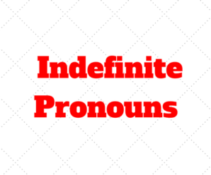 Indefinite Pronouns (pronombres indefinidos) Inglés: cuales són