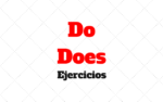 Do Does Ejercicios