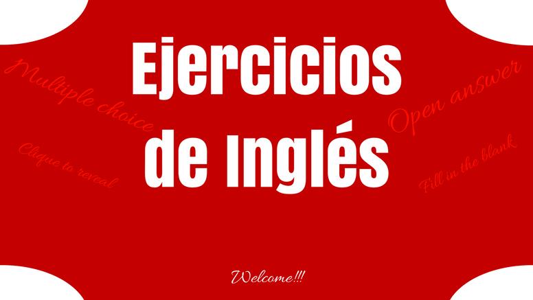 ejercicios ingles