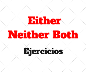Either Neither Both Ejercicios