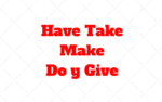 Have, Take, Make, Do y Give: Combinación verbo-sustantivo