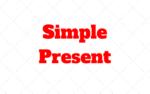 El tiempo Simple Present en Inglés