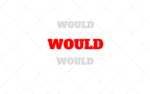 Usos del verbo WOULD