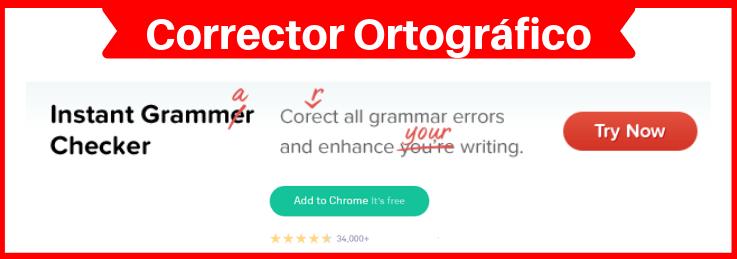 corrector ortográfico inglés