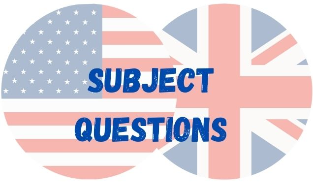 ingles subject questions
